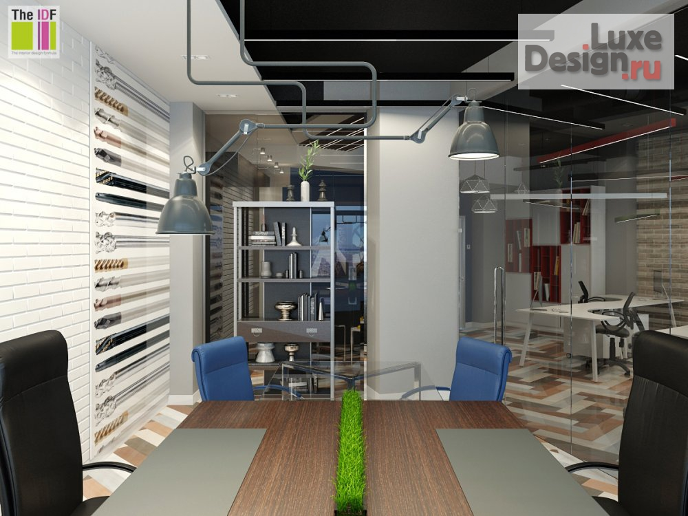 """Дизайн интерьера офиса """"Проект офиса в БЦ Клевер Парк"""" (фото 9)"""